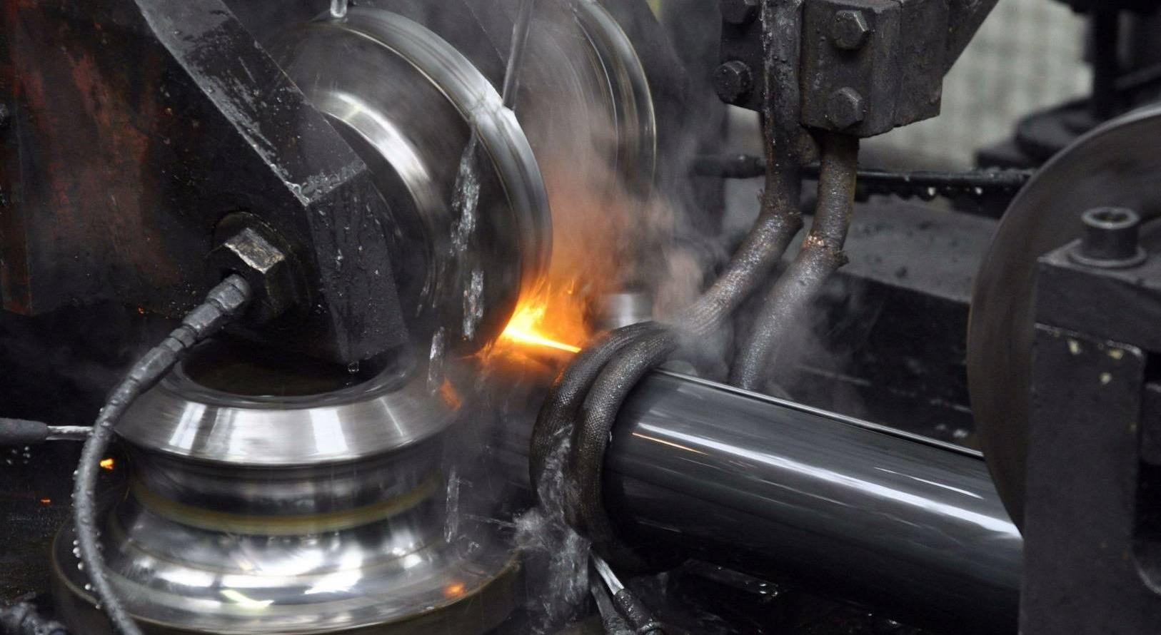 La producción de tubos en Acciaitubi