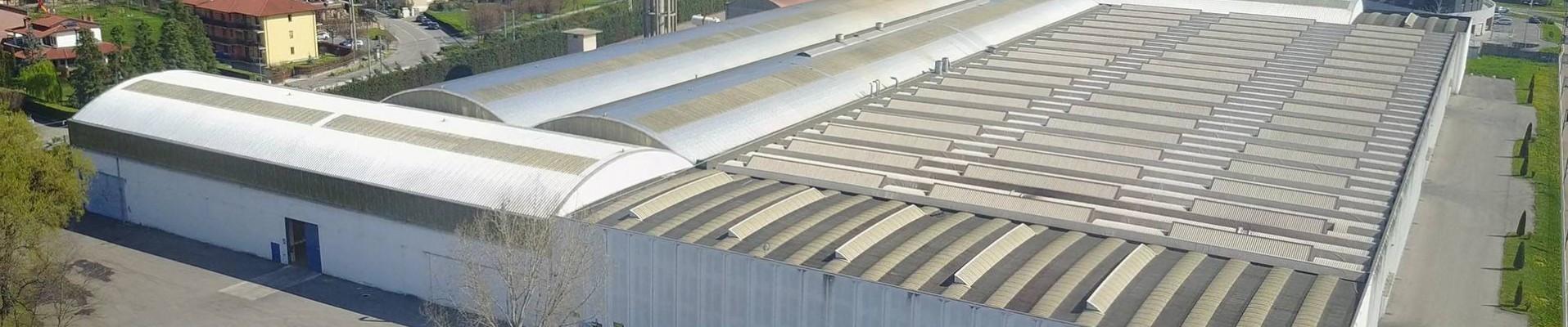 Foto aérea de las instalaciones de Acciaitubi