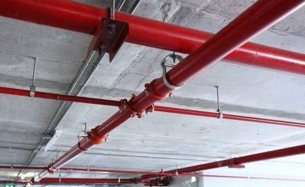 Tubo aligerado utilizado en un aparcamiento subterráneo